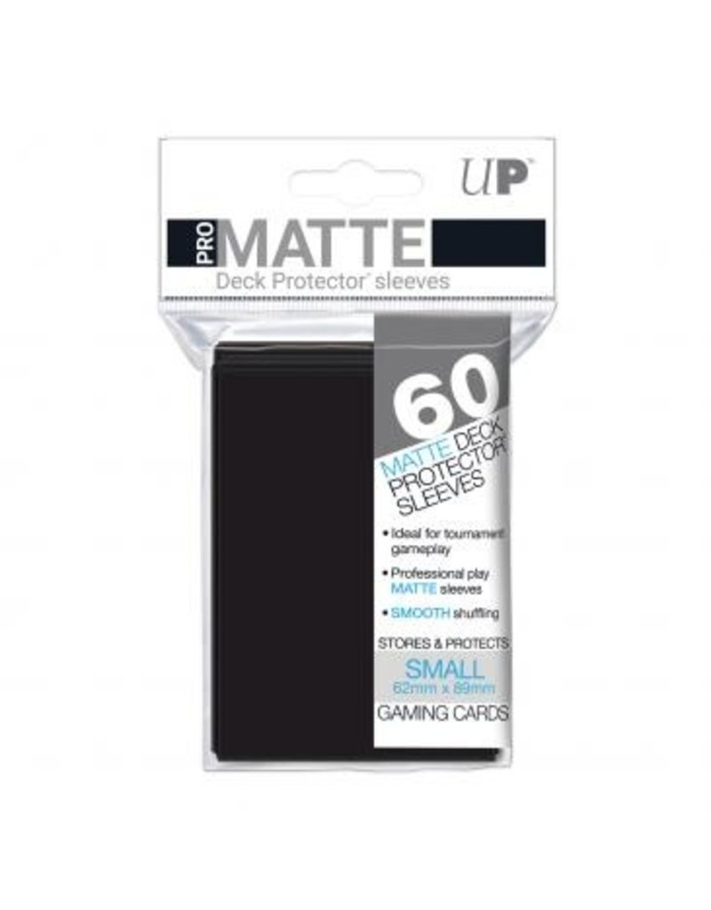 Ultra Pro Ultra Pro Small Matte Sleeves Black