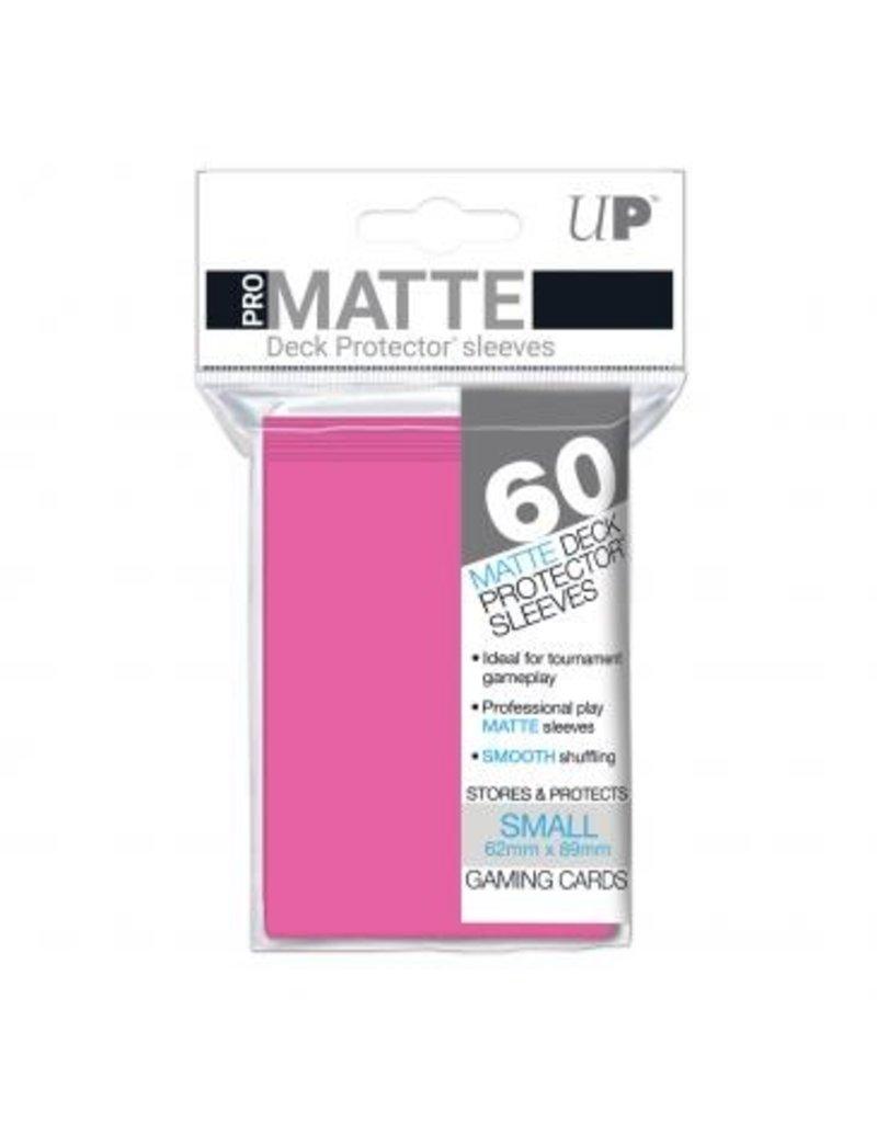 Ultra Pro Ultra Pro Small Matte Sleeves Bright Pink