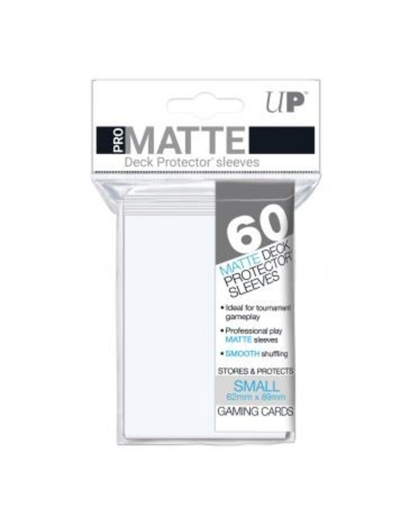 Ultra Pro Ultra Pro Small Matte Sleeves White
