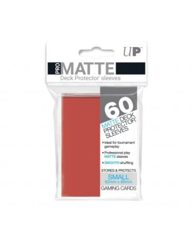 Ultra Pro Ultra Pro Small Matte Sleeves Red