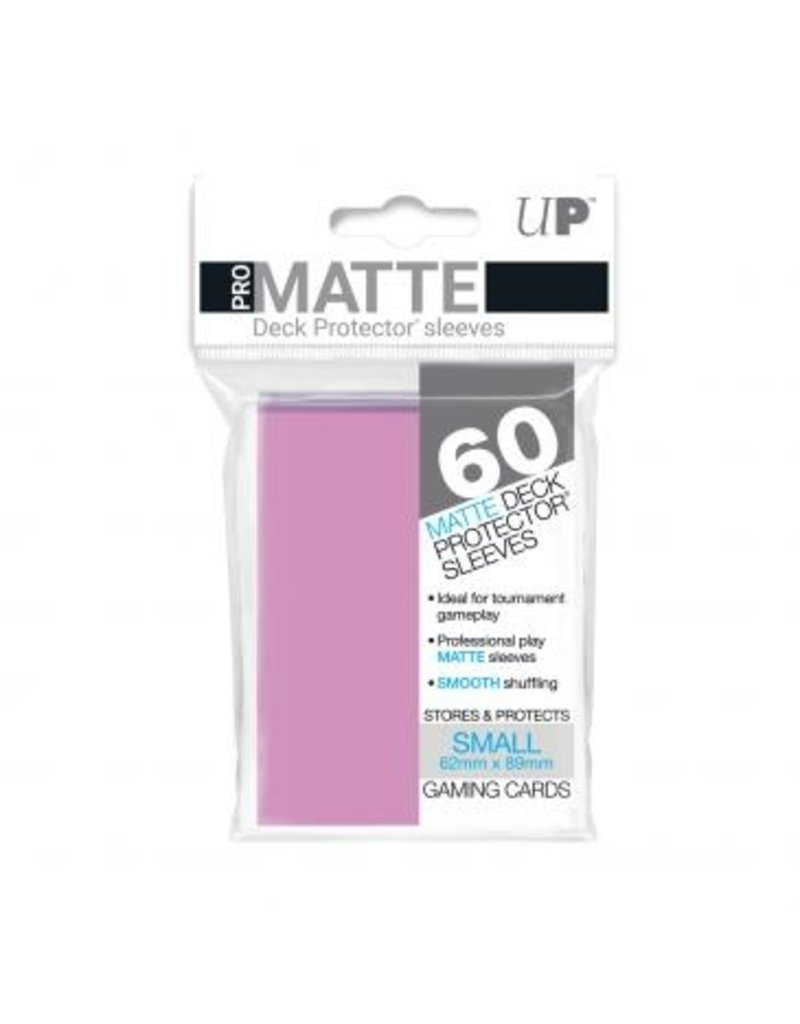 Ultra Pro Ultra Pro Small Matte Sleeves Pink