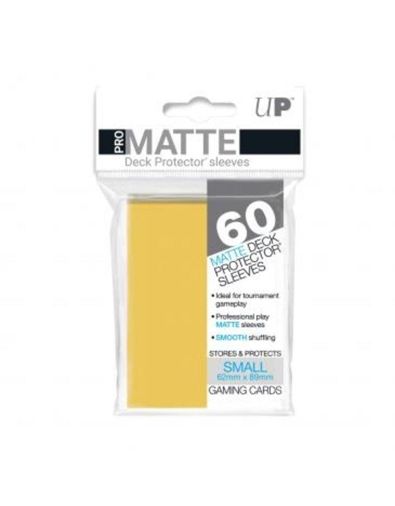 Ultra Pro Ultra Pro Small Matte Sleeves Yellow