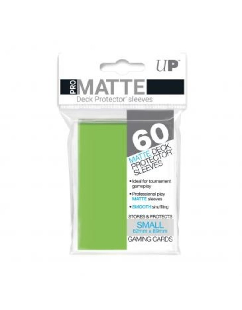 Ultra Pro Ultra Pro Small Matte Sleeves Lime Green