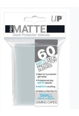 Ultra Pro Ultra Pro Small Matte Sleeves Clear