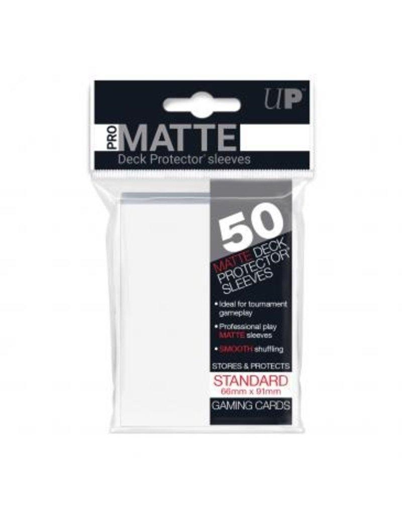 Ultra Pro Ultra Pro Standard Matte Sleeves White