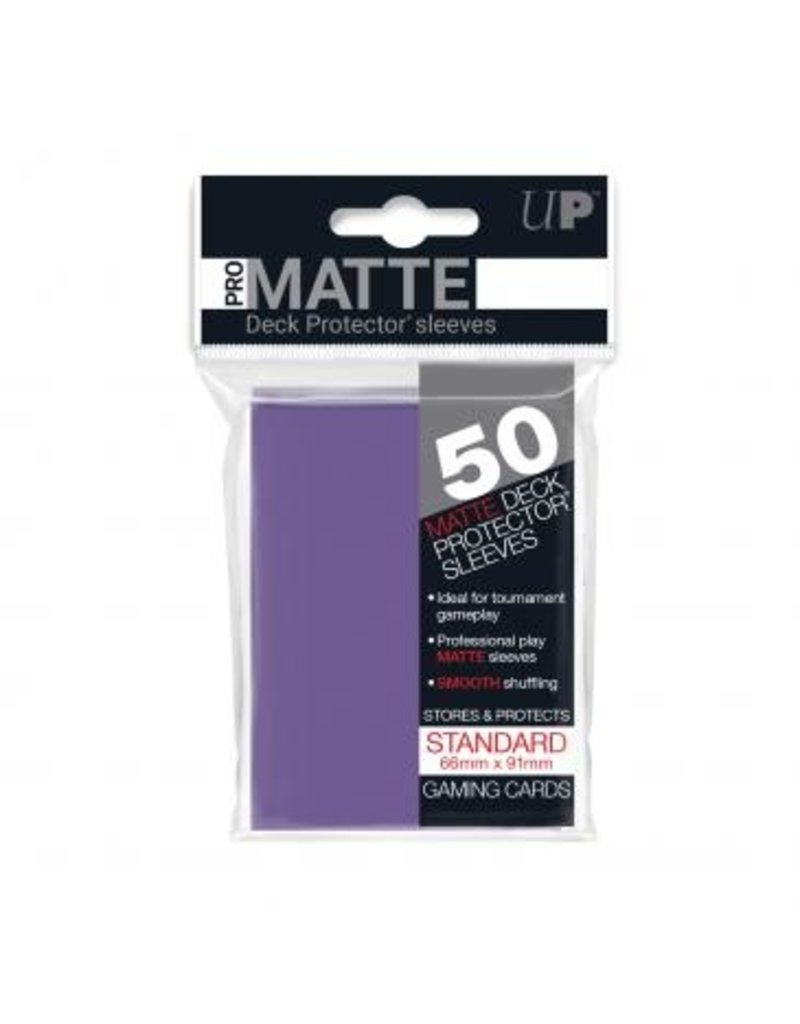 Ultra Pro Ultra Pro Standard Matte Sleeves Purple