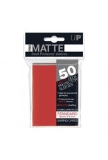 Ultra Pro Ultra Pro Standard Matte Sleeves Red