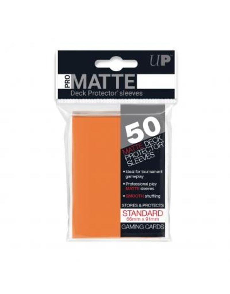 Ultra Pro Ultra Pro Standard Matte Sleeves Orange