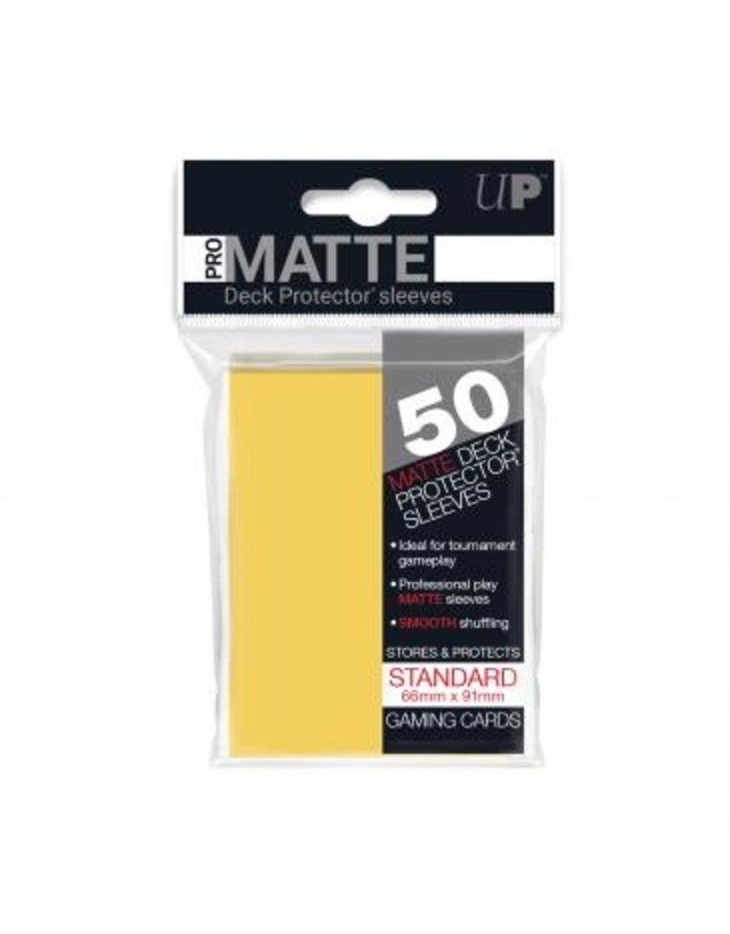 Ultra Pro Ultra Pro Standard Matte Sleeves Yellow