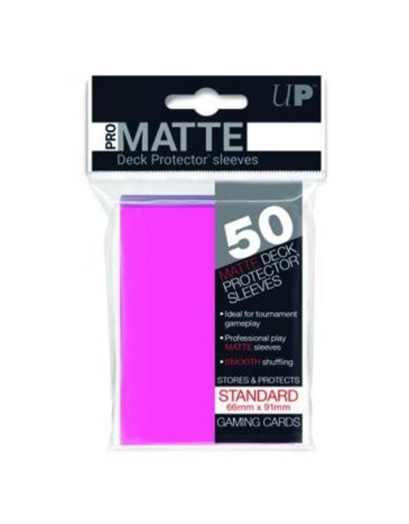 Ultra Pro Ultra Pro Standard Matte Sleeves Bright Pink