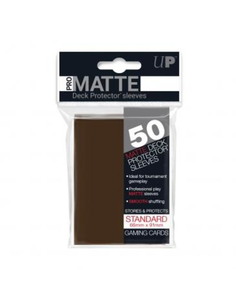 Ultra Pro Ultra Pro Standard Matte Sleeves Brown