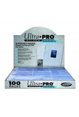 Ultra Pro Hologram Pages Silver 9-Pocket Ultra Pro