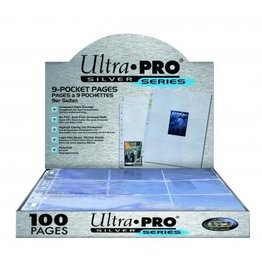 Ultra Pro Hologram Pages Silver 9-Pocket Ultra Pro