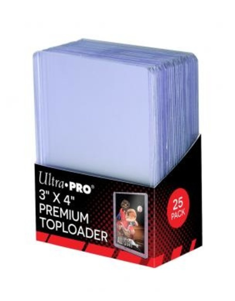Ultra Pro Toploaders Clear Premium Ultra Pro