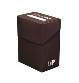 Ultra Pro Deck Box Solid Brown Ultra Pro