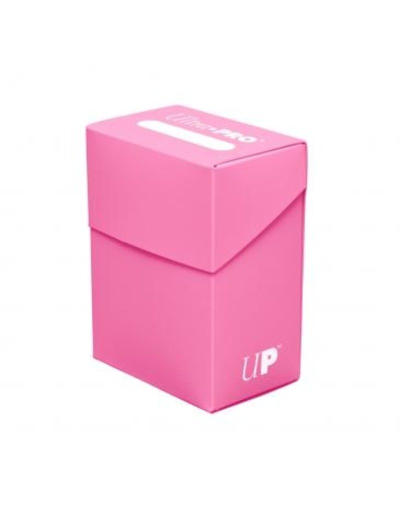 Ultra Pro Deck Box Solid Pink Ultra Pro