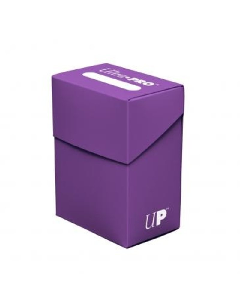 Ultra Pro Deck Box Solid Purple Ultra Pro