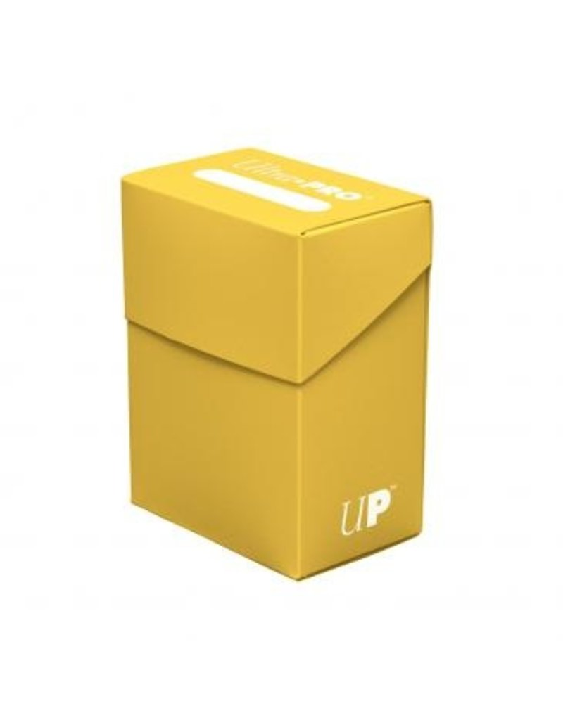 Ultra Pro Deck Box Solid Yellow Ultra Pro