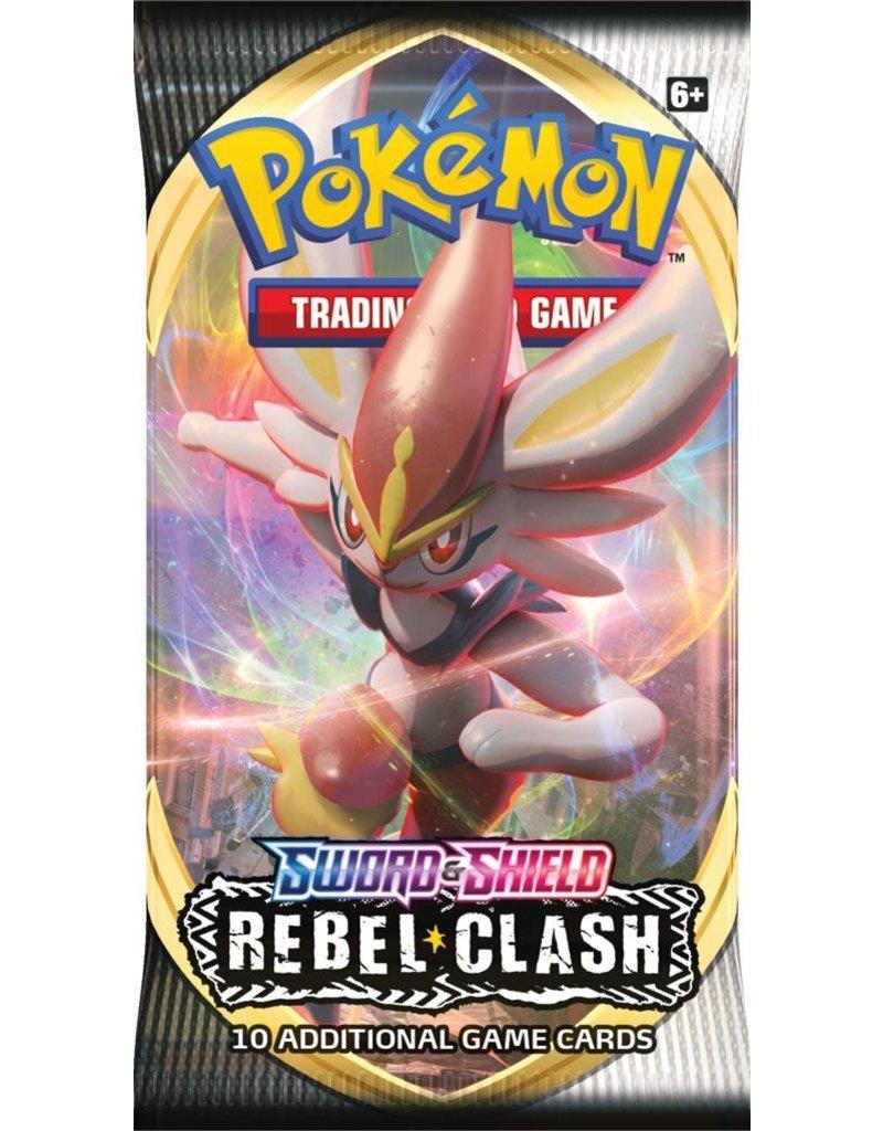 The Pokémon Company Pokemon Sword & Shield Rebel Clash Booster Pack