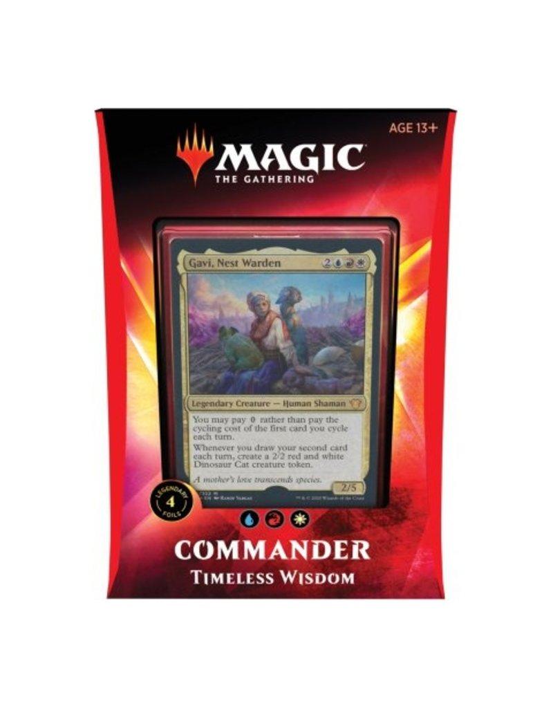 Magic The Gathering Ikoria Lair of Behemoths Commander Deck Timeless Wisdom