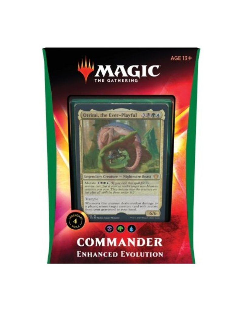 Magic The Gathering Ikoria Lair of Behemoths Commander Deck Enhanced Evolution