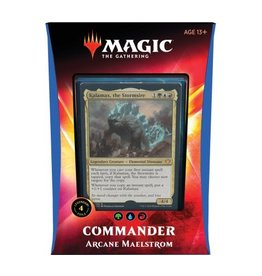 Magic The Gathering Ikoria Lair of Behemoths Commander Deck Arcane Maelstrom