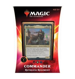 Magic The Gathering Ikoria Lair of Behemoths Commander Deck Ruthless Regiment