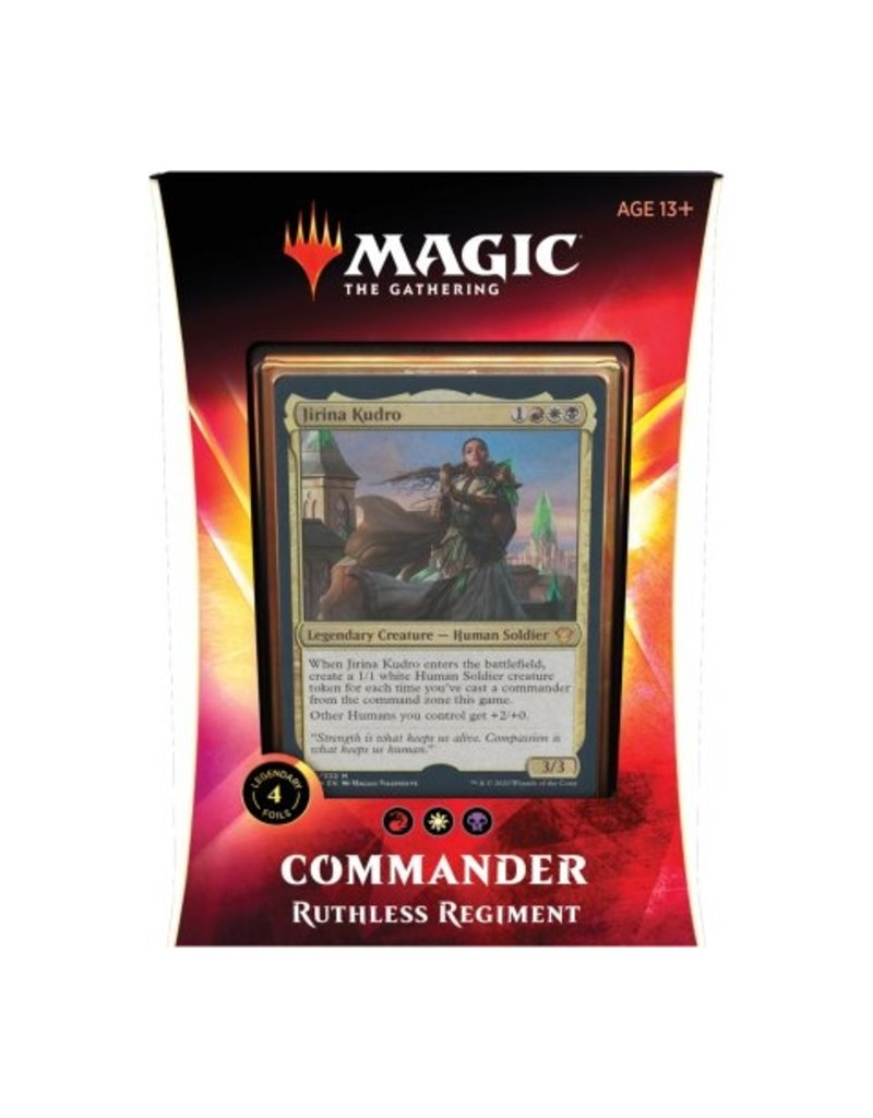Magic The Gathering Ikoria Lair of Behemoths Commander Deck Ruthless Regiment