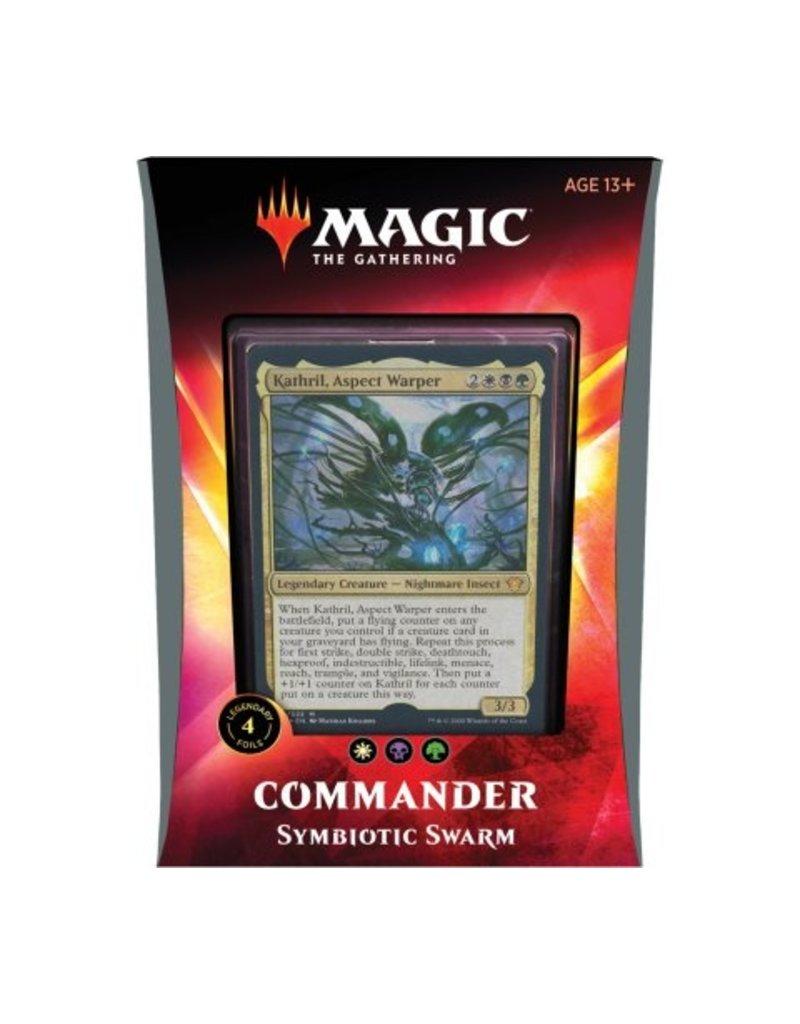 Magic The Gathering Ikoria Lair of Behemoths Commander Deck Symbiotic Swarm