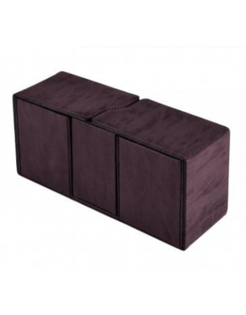 Ultra Pro Alcove Vault Deck Box Suede Collection - Amethyst Ultra Pro