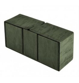 Ultra Pro Alcove Vault Deck Box Suede Collection - Emerald Ultra Pro