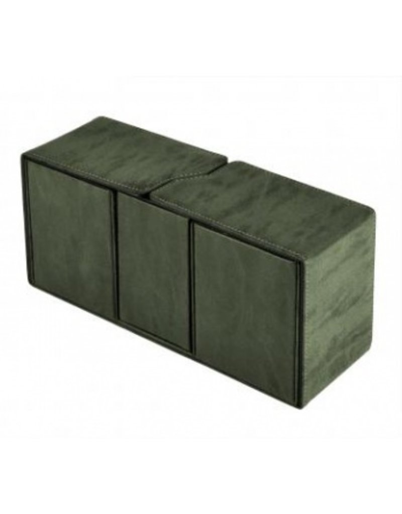 Ultra Pro Suede Collection Alcove Vault Deck Box Emerald