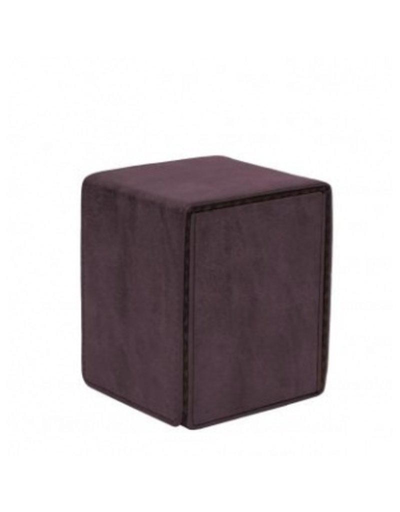 Ultra Pro Suede Collection Deckbox Alcove Flip Box Amethyst