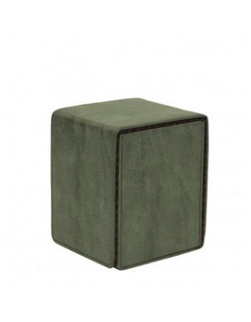 Ultra Pro Alcove Flip Box Suede Collection - Emerald Ultra Pro