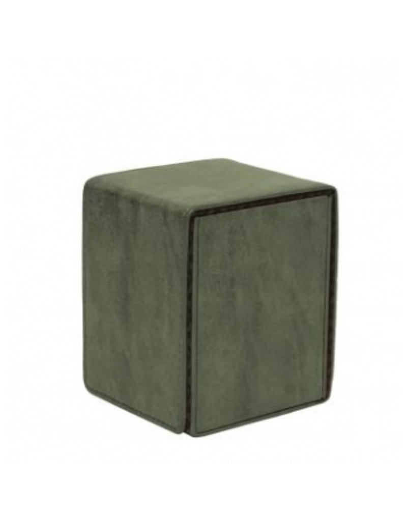 Ultra Pro Suede Collection Deckbox Alcove Flip Box Emerald
