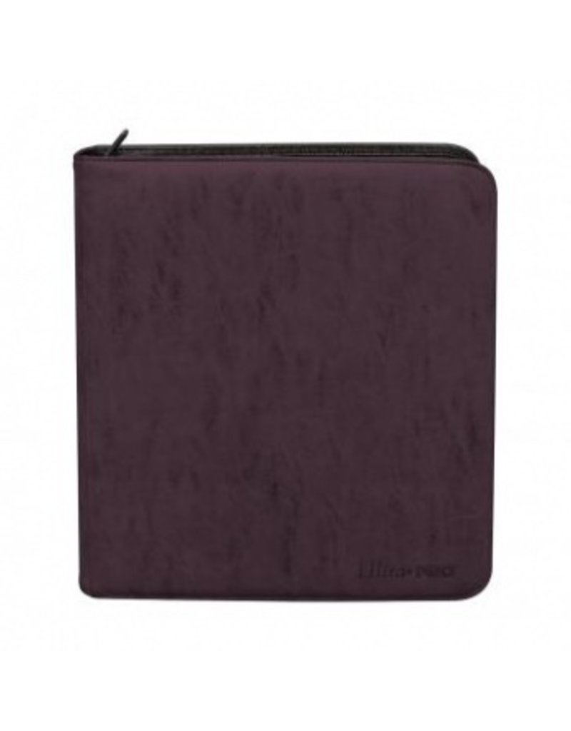 Ultra Pro Deck Builder's Playset Zippered Pro Binder Suede Collection - Amethyst Ultra Pro