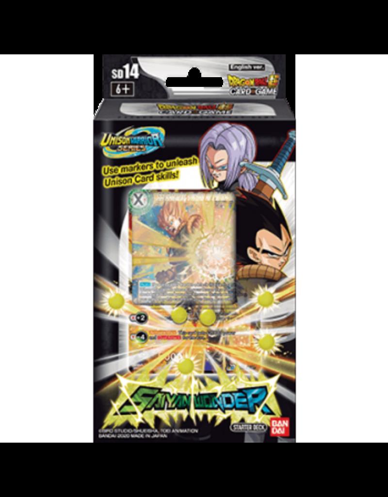 Dragon Ball Super Card Game Dragon Ball Super Starter Deck 14 Saiyan Wonder