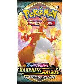 The Pokémon Company Pokemon Sword & Shield Darkness Ablaze Booster Pack