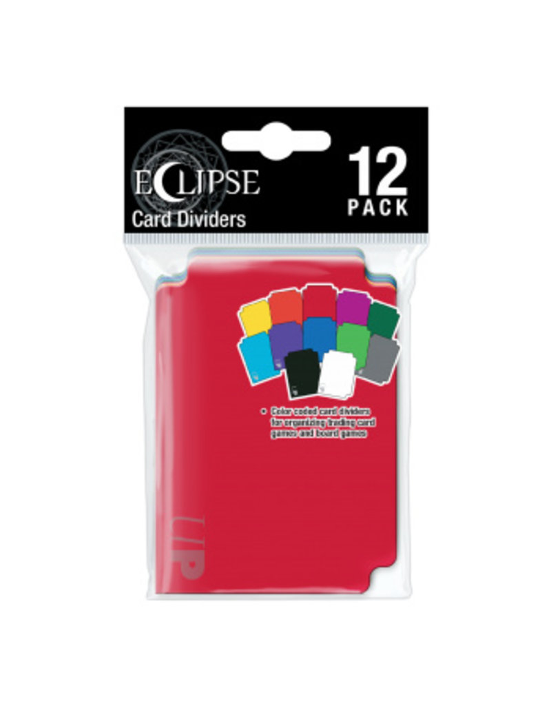 Ultra Pro Eclipse Multi-Colored Dividers (12 Pack) Ultra Pro