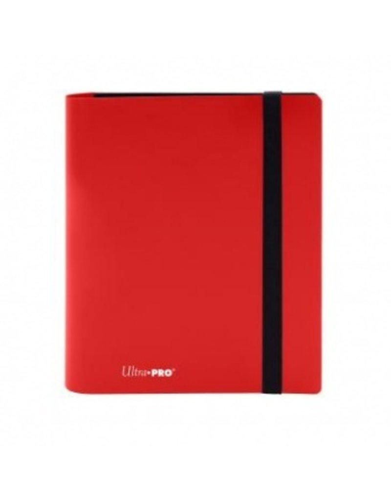 Ultra Pro 4-Pocket Pro Binder Eclipse Apple Red