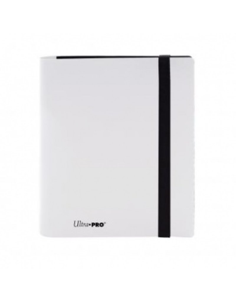 Ultra Pro 4-Pocket Pro Binder Eclipse Arctic White