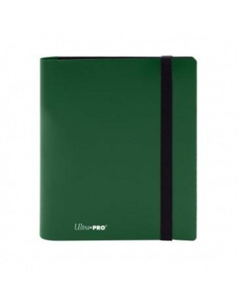Ultra Pro 4-Pocket Pro Binder Eclipse Forest Green