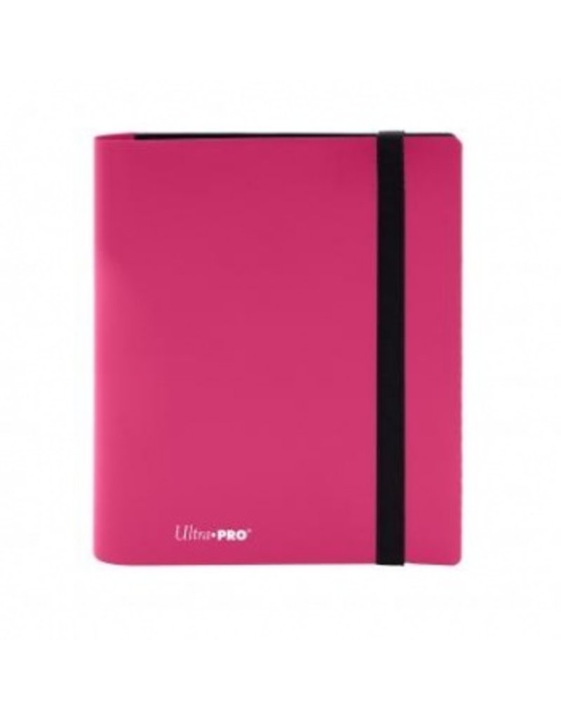Ultra Pro 4-Pocket Pro Binder Eclipse Hot Pink