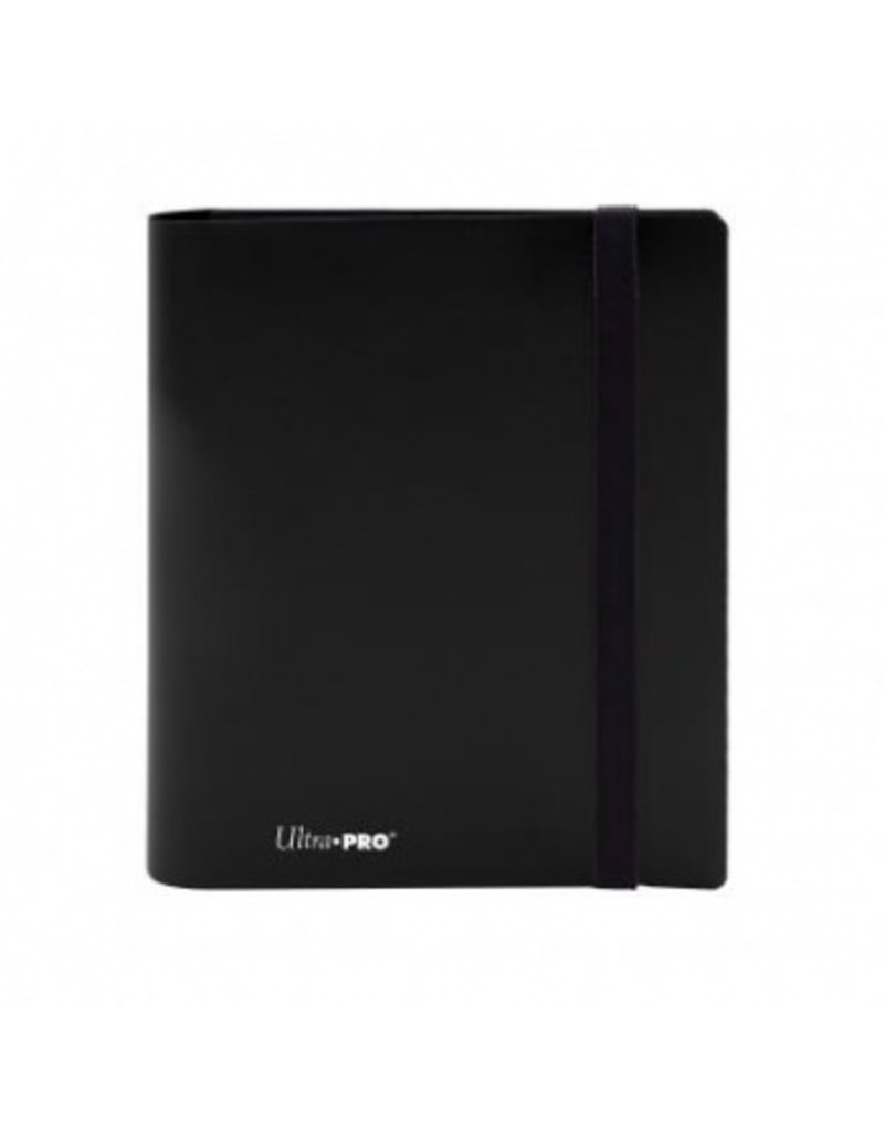 Ultra Pro 4-Pocket Pro Binder Eclipse Jet Black