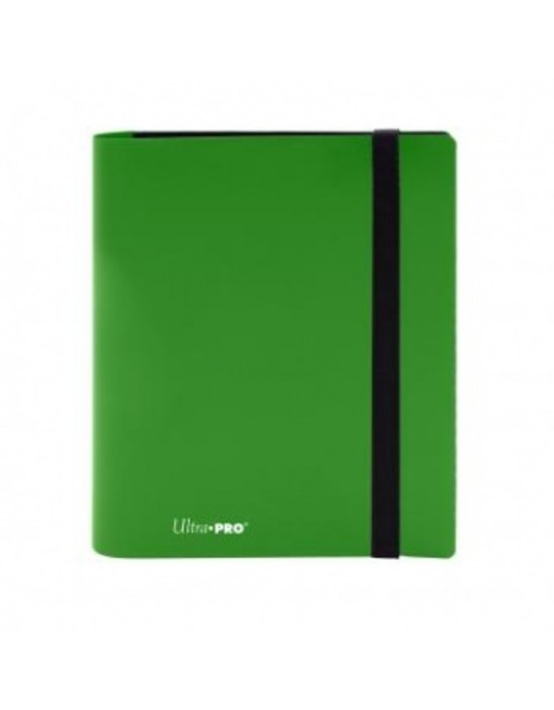 Ultra Pro 4-Pocket Pro Binder Eclipse Lime Green