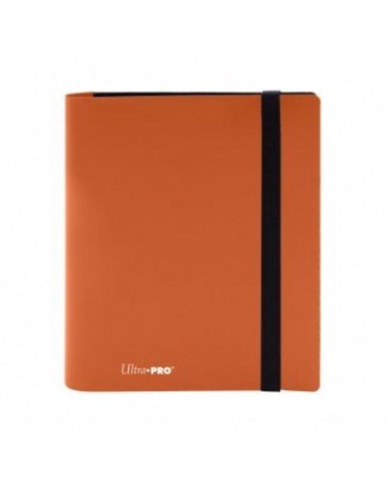 Ultra Pro 4-Pocket Pro Binder Eclipse Pumpkin Orange