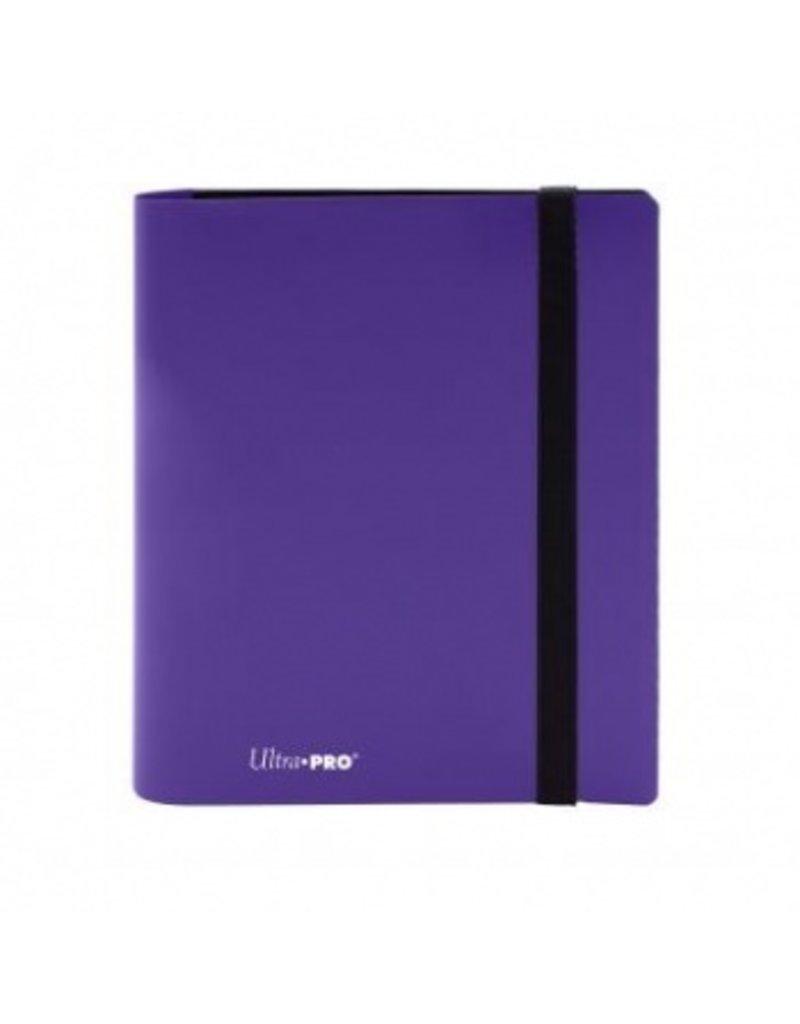 Ultra Pro 4-Pocket Pro Binder Eclipse Royal Purple