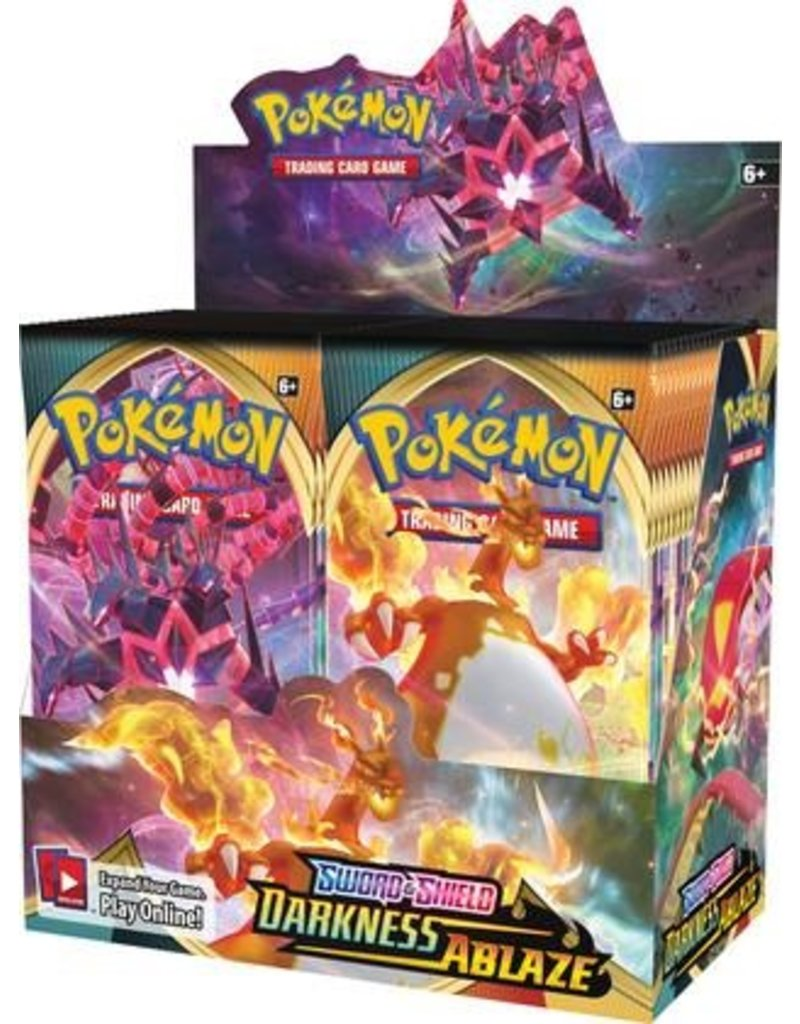 The Pokémon Company Pokemon Sword & Shield Darkness Ablaze Booster Box