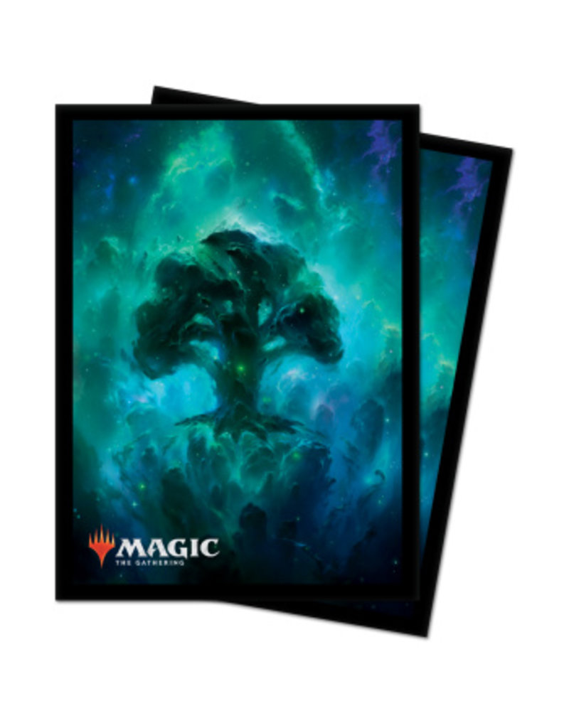 Magic The Gathering Deck Protector Sleeves Celestial Forest MTG