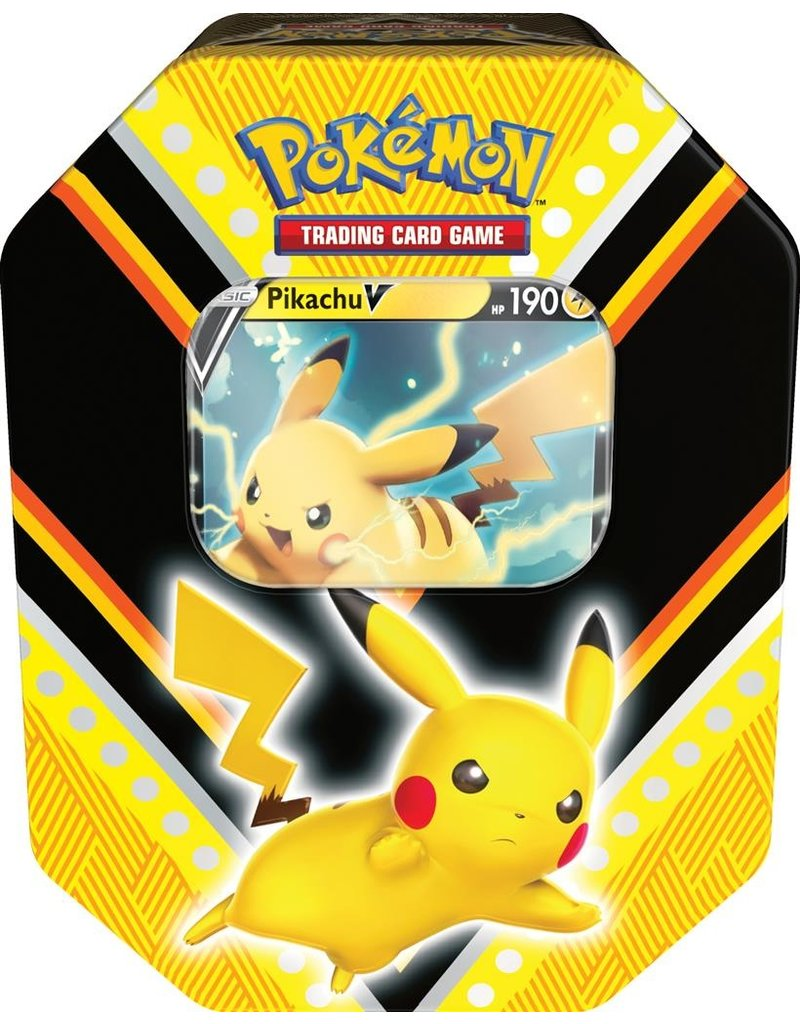 The Pokémon Company Pokemon Pikachu V Fall Tin